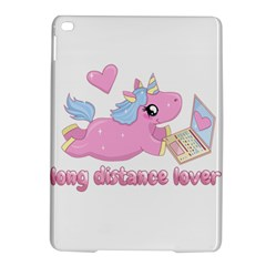 Long Distance Lover   Cute Unicorn Ipad Air 2 Hardshell Cases by Valentinaart