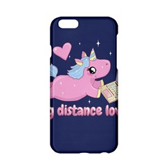 Long Distance Lover   Cute Unicorn Apple Iphone 6/6s Hardshell Case by Valentinaart