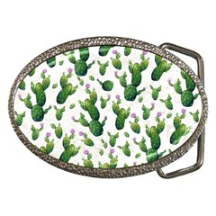 Cactus Pattern Belt Buckles