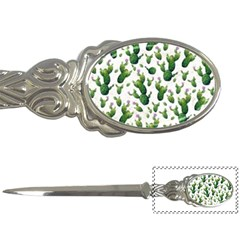 Cactus Pattern Letter Openers