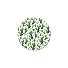 Cactus Pattern Golf Ball Marker (10 Pack)