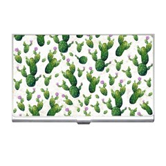 Cactus Pattern Business Card Holders
