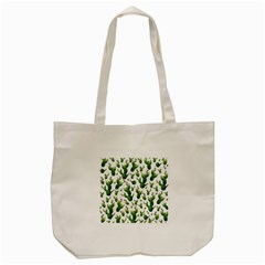 Cactus Pattern Tote Bag (cream)