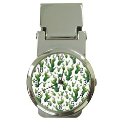 Cactus Pattern Money Clip Watches