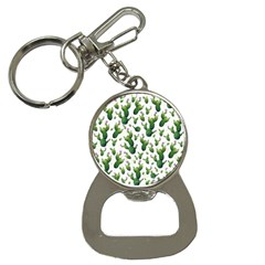 Cactus Pattern Bottle Opener Key Chains