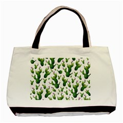 Cactus Pattern Basic Tote Bag