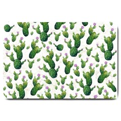 Cactus Pattern Large Doormat