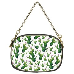 Cactus Pattern Chain Purses (one Side)