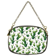 Cactus Pattern Chain Purses (two Sides)