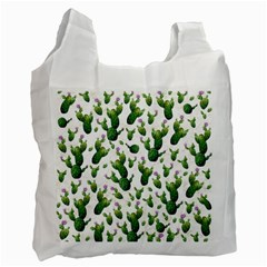 Cactus Pattern Recycle Bag (one Side)