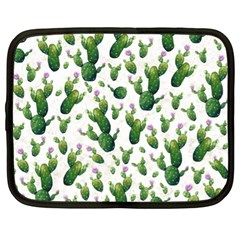 Cactus Pattern Netbook Case (xl)