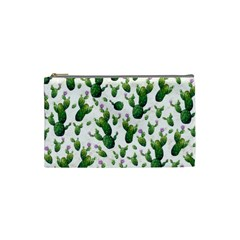 Cactus Pattern Cosmetic Bag (small)