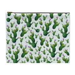 Cactus Pattern Cosmetic Bag (xl)
