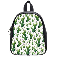Cactus Pattern School Bag (small)