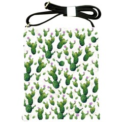 Cactus Pattern Shoulder Sling Bags