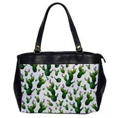 Cactus Pattern Office Handbags