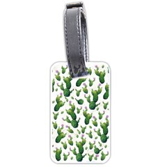 Cactus Pattern Luggage Tags (one Side)