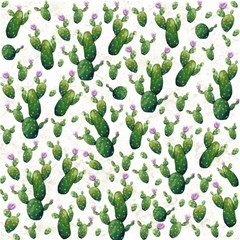 Cactus Pattern Magic Photo Cubes