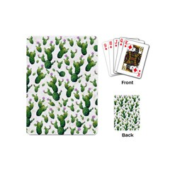 Cactus Pattern Playing Cards (mini)