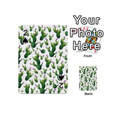 Cactus Pattern Playing Cards 54 (mini)