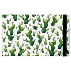 Cactus Pattern Apple Ipad 2 Flip Case by Valentinaart