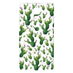 Cactus Pattern Samsung Note 4 Hardshell Back Case