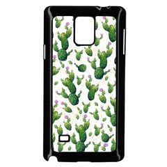 Cactus Pattern Samsung Galaxy Note 4 Case (black)