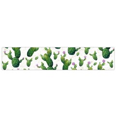 Cactus Pattern Small Flano Scarf
