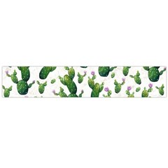 Cactus Pattern Large Flano Scarf