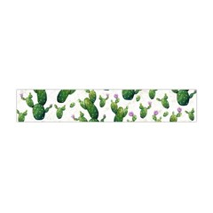 Cactus Pattern Flano Scarf (mini)