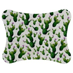 Cactus Pattern Jigsaw Puzzle Photo Stand (bow)
