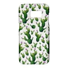 Cactus Pattern Samsung Galaxy S7 Hardshell Case