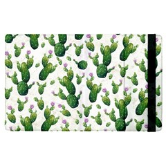 Cactus Pattern Apple Ipad Pro 9 7   Flip Case