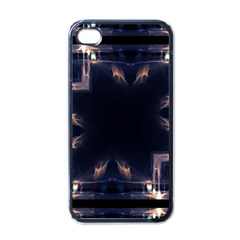Cosmos Kaleidoscope Art Pattern Apple Iphone 4 Case (black) by Sapixe
