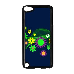 Flower Power Flowers Ornament Apple Ipod Touch 5 Case (black) by Sapixe