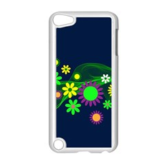 Flower Power Flowers Ornament Apple Ipod Touch 5 Case (white) by Sapixe