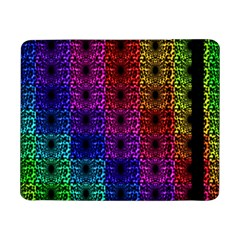 Rainbow Grid Form Abstract Samsung Galaxy Tab Pro 8 4  Flip Case
