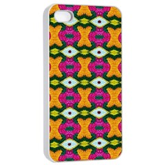 Artwork By Patrick Colorful 2 3 Apple Iphone 4/4s Seamless Case (white)