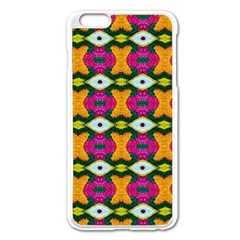 Artwork By Patrick Colorful 2 3 Apple Iphone 6 Plus/6s Plus Enamel White Case