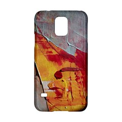 Painting Macro Color Oil Paint Samsung Galaxy S5 Hardshell Case  by Sapixe