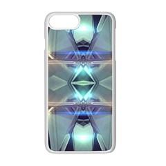 Abstract Glow Kaleidoscopic Light Apple Iphone 8 Plus Seamless Case (white) by Sapixe