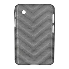 White Fabric Pattern Textile Samsung Galaxy Tab 2 (7 ) P3100 Hardshell Case  by Sapixe