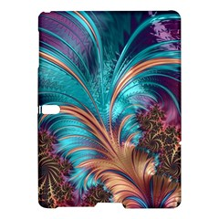 Feather Fractal Artistic Design Samsung Galaxy Tab S (10 5 ) Hardshell Case  by Sapixe