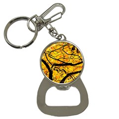 Golden Vein Bottle Opener Key Chains by FunnyCow