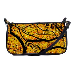 Golden Vein Shoulder Clutch Bags by FunnyCow