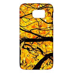 Golden Vein Samsung Galaxy S6 Hardshell Case  by FunnyCow