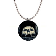 Smiling Skull Button Necklaces by FunnyCow