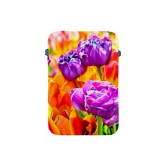 Tulip Flowers Apple Ipad Mini Protective Soft Cases by FunnyCow