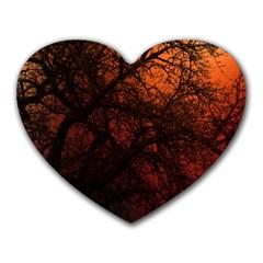 Fall Heart Mousepads by LoolyElzayat
