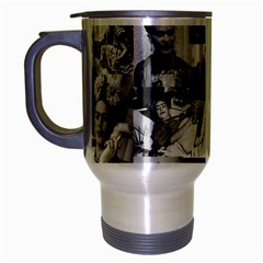 Frida Kahlo Pattern Travel Mug (silver Gray)